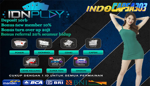 Agen Poker IDNPlay Bank BRI 24 Jam